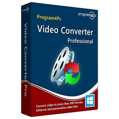 Program4PC Video Converter Pro,Convert mp4 avi wmv mkv mpg mov flv 3gp vob mts