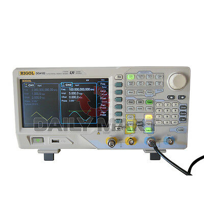 Brand New Rigol Dg4102 100 Mhz Arbitrary Waveform Generator 2-channel Function