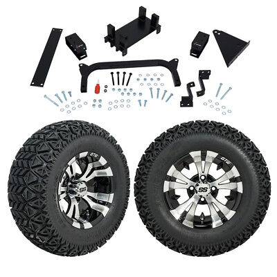 "GTW 5"" Yamaha G29 Drive Golf Cart Lift Kit Combo With A/T Tires and 12"" Wheels"