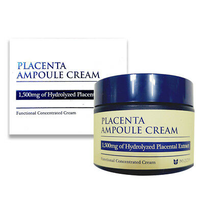 Mizon Placenta Ampoule Cream 50ml Free gifts