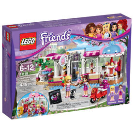 Lego friends 41119 heartlake cupcake caf