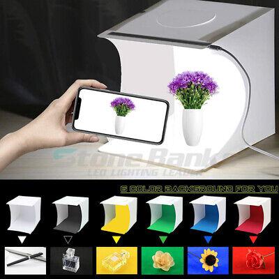 6pcs Backdrop Mini Folding Photo Studio Photography LED Light Box Lighting Tent