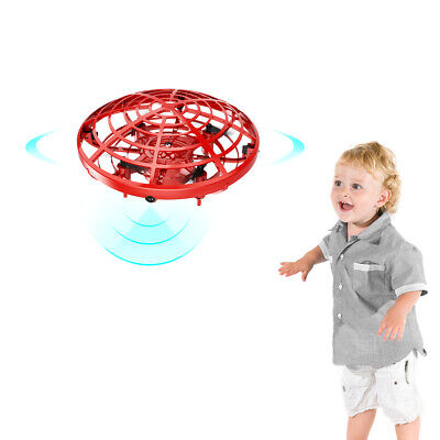 Mini Drone Quad Induction Levitation UFO LED Light Toy for kids Gift US stock A+