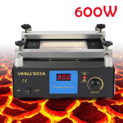 Preheating Rework Station 600w Ceramic Heating Smd Pcb Bga Oven 600w 853a New