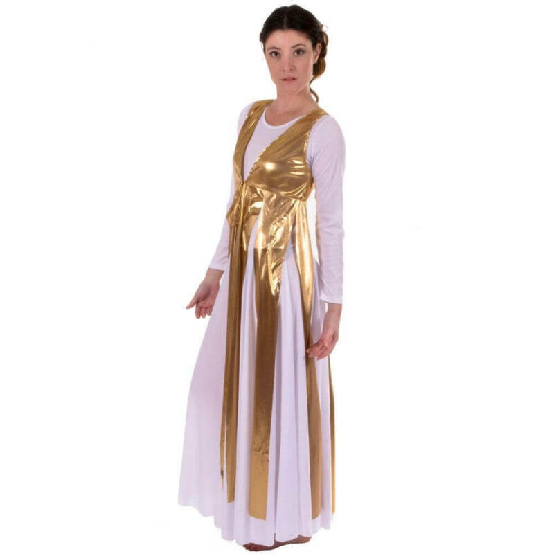 Danzcue Metallic Streamer Tunic (dress not included)