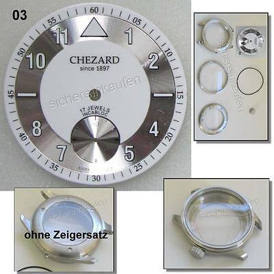 Uhrengehäuse-Bausatz 2012 f. Unitas 6498 für Profis ohne Zifferblatt ohne Zeiger