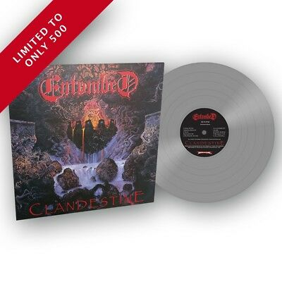 "Entombed ""Clandestine"" SILVER FDR Vinyl - NEW Full Dynamic Range (Out Oct 20)"