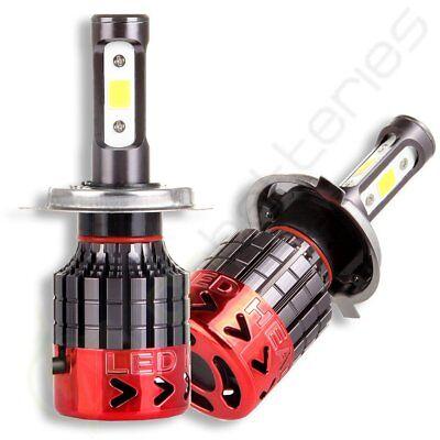 120W 12800lm 4 Sides LED Headlight Kit H4 HB2 9003 Hi/low beams HID 6000K Bulbs