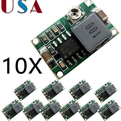 10PCS Mini 360 DC-DC Buck Converter Step Down Module Mini360 4.75V-23V to 1V-17V