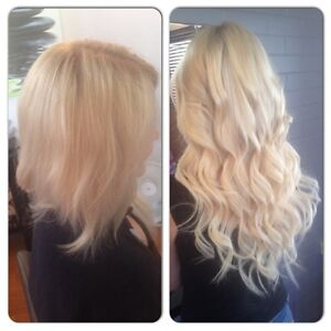 Russian Hair Extensions SALE Full head 20 inch Thick tape $240 Clear Island Waters Gold Coast City Preview