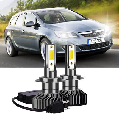 Fits Vaux Astra J GTC HIR2 9012 CANBUS Error Free LED Headlight Bulb Super White