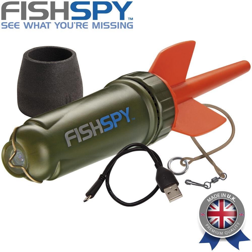 FishSpy Marker Float Fishing Camera Live Video Stream Fin /& Foamy Bundle Pack