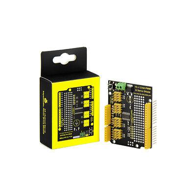 Keyestudio 16 Channel Pwm Pca9685 Servo Motor Drive Board Shield For Arduino