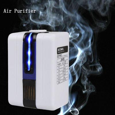 110-240V Negative Ion Home Mini Portable Air Purifier Ozonator Purify Cleaner