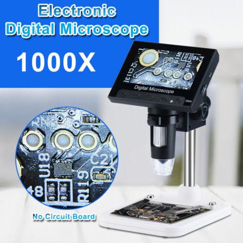 "Adjustable 4.3"" 1000X HD LCD Monitor Electronic Digital Micr"