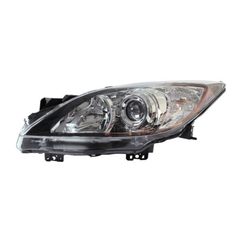 TYC Left Side Halogen Headlight Assembly For Mazda 3 2012-2013 Models