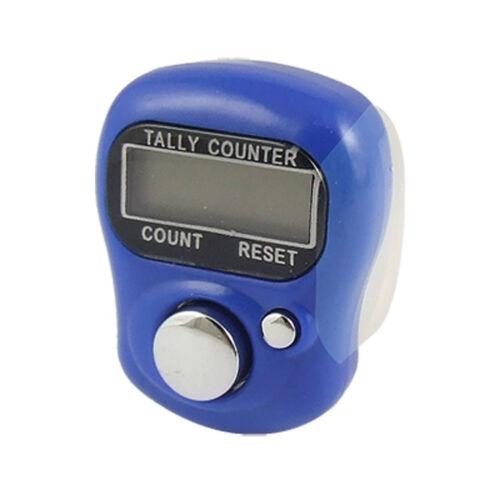 Adjustable Digital Hand Held Finger Counter Housing Resettable Finger Ring Tally