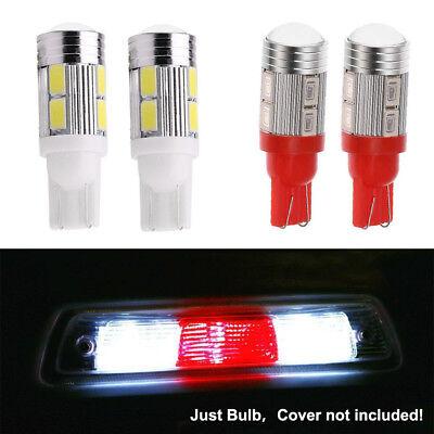 4Pcs 912 T10 LED Bulbs High Mount 3rd Brake Stop Lamp White Red Light For GMC US