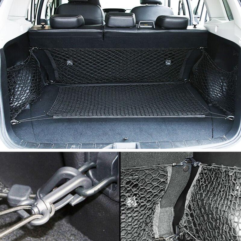 OEM Subaru Outback Rear Side Mesh Cargo Nets Black