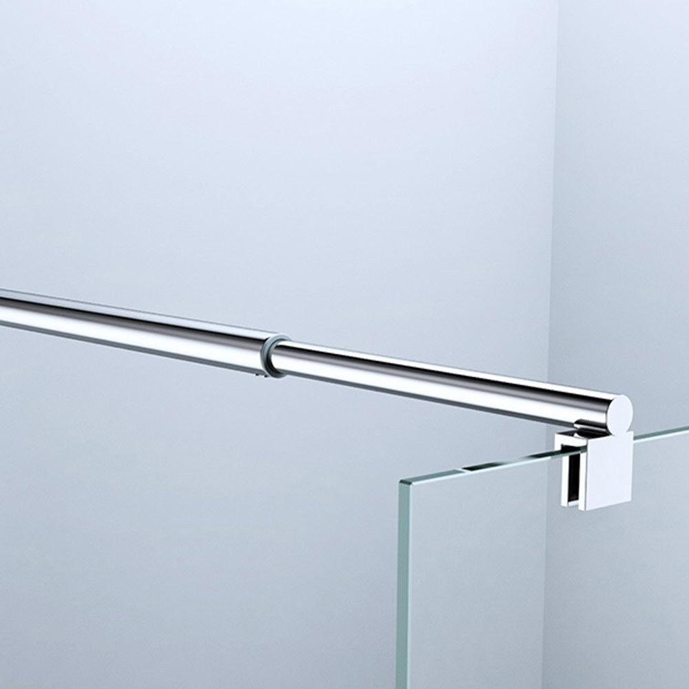 glaswand stabilisator haltestange duschabtrennung duschkabine dusche edelstahl eur 37 95. Black Bedroom Furniture Sets. Home Design Ideas