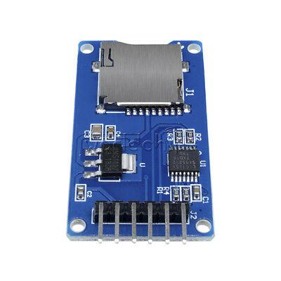 2pcs 3.3v Spi Mciro Sd Tf Card Memory Shield Module Storage Board For Arduino