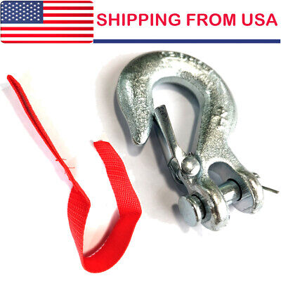 14 Slip Hook Clevis Rigging Tow Winch Trailer G70 Crane Wrecker Lift Us Stock