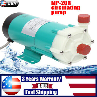 110v Magnetic Drive Water Pump Mp-20r - Food Grade Industrial Pump Stainless