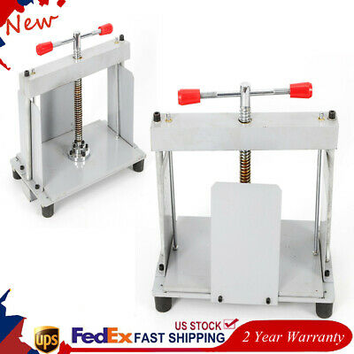 A4 Manual Flat Press Machine For Invoices Bookletsequalizing Rod Bookbinder