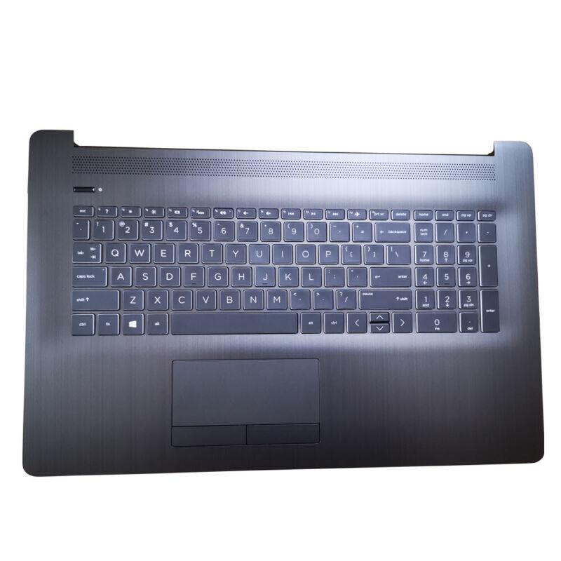 L22749-001 HP 17T-BY 17-BY1001CY 17-BY1956C Palmrest Backlit Keyboard W/Touchpad