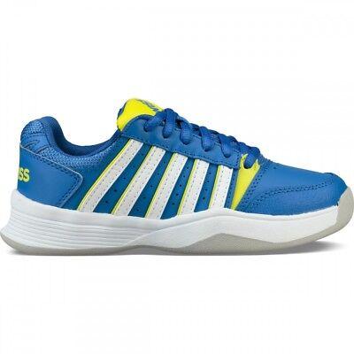 K-Swiss Court Smash Carpet blau Tennisschuh Junior NEU 49,95€ UVP - Blau-tennis-schuh