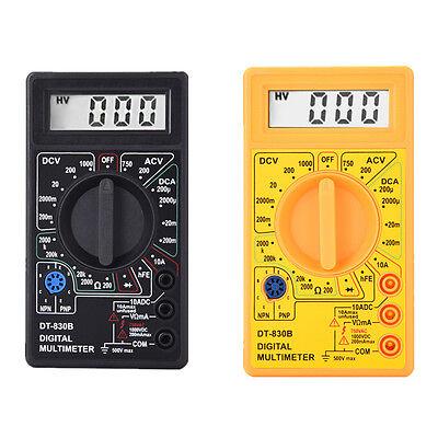 Mini Lcd Digital Voltmeter Ohm Multimeter Acdc Voltage Multi Tester Meter