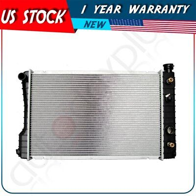 For 1985-1993 Chevrolet S10 2.5L L4 Replacement New Aluminum Radiator 1993 Chevrolet S10 Replacement