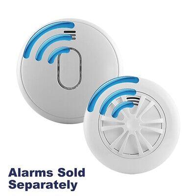 UltraFire UB1RF Radio-Interlinked Battery Powered Wireless Smoke & Heat Alarms