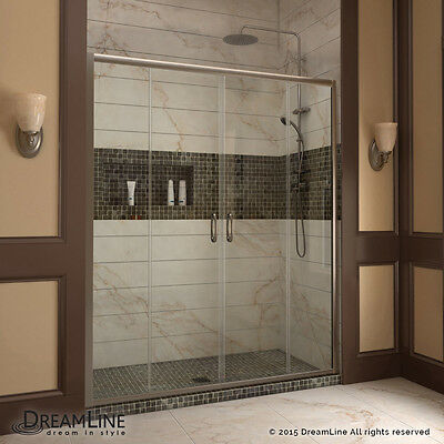 VISIONS Sliding Shower Door, 56
