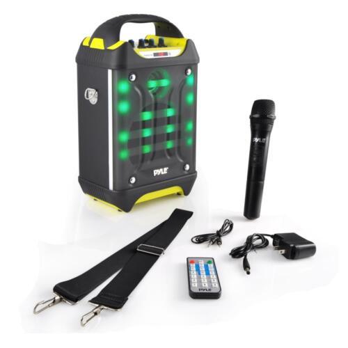 NEW Pyle PWMA275BT Bluetooth Karaoke Speaker System Wireless