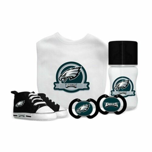 NFL Baby Fanatic Philadelphia Eagles Baby Essentials 5 Piece