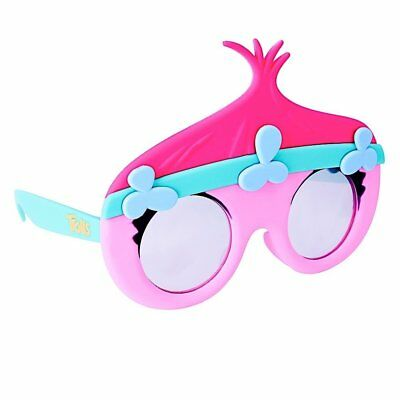 TROLLS PRINCESS POPPY Girls 100% UV Shatter Resistant Costume Sunglasses NWT $13