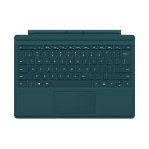 NEW Microsoft Surface Pro 4 Type Cover with Backlighting (Teal) & Wireless Adapter - QC7-00006
