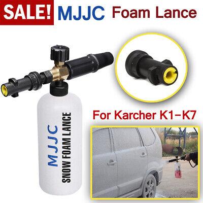MJJC Snow Foam Lance Soap Bottle High Pressure Washer Gun Jet for Karcher K1-K7 segunda mano  Embacar hacia Argentina