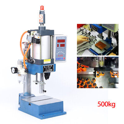Desktop Pneumatic Punch Press Machine Small Vertical Punching Machine 500kg