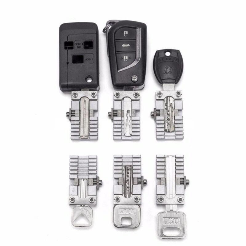 Useful Car Key Copy Locksmithing Tool Key Clamp Fixture Duplicat Cutting Machine
