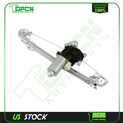 Power Window Regulator fits 1997-03 Chevy Malibu Rear Driver Side w/ Motor
