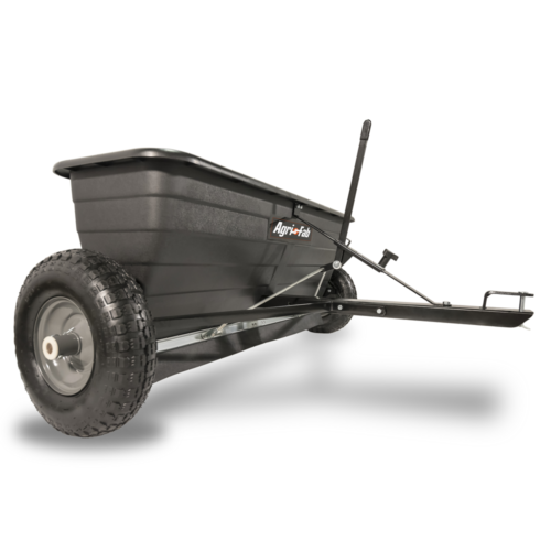 Agri-Fab 45-0288 175-Pound Max Tow Behind Drop Spreader, Bla