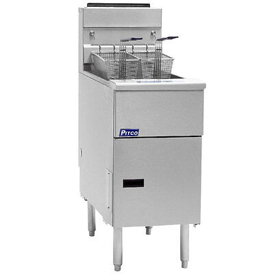 Pitco - Sg14s - Solstice Standard 50 Lb Gas Fryer Nat Or Lp