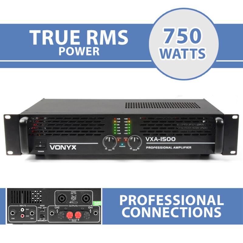 VXA-1500 DJ Power Amplifier 2 Channel Stereo & Bridge PA 19