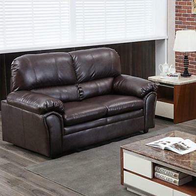 Sofa Leather Loveseat Sofa Contemporary Sofa Couch for Living Room