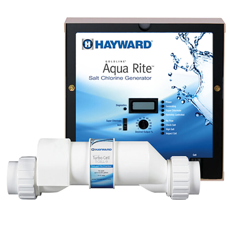 Hayward Salt Chlorinator w/ TurboCell for 25K Gallon In Ground Pools (Open Box)