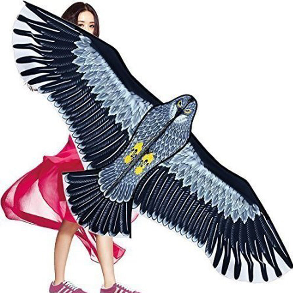 NEW Huge 1.5m Eagle Kite single line Novelty animal Kites Ch