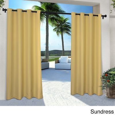 (EXCLUSIVE HOME INDOOR/OUTDOOR CABANA SUNDRESS YELLOW 96
