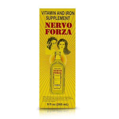 NERVOFORZA VITAMIN AND IRON SUPPLMENT / HIERRO Y VITAMINAS NERVO FORZA